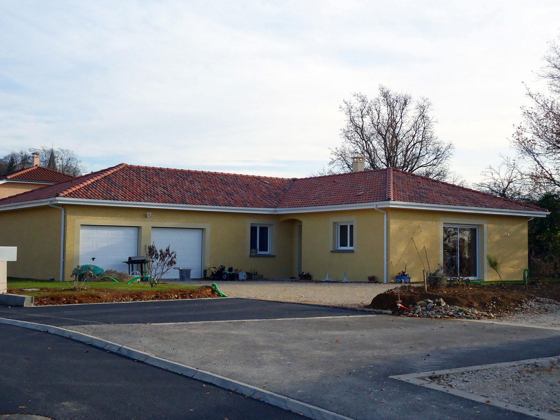 Constructeur maison realisation bourg en bresse