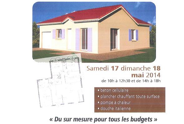 Construction maison individuelle beton cellulaire bourg en bresse