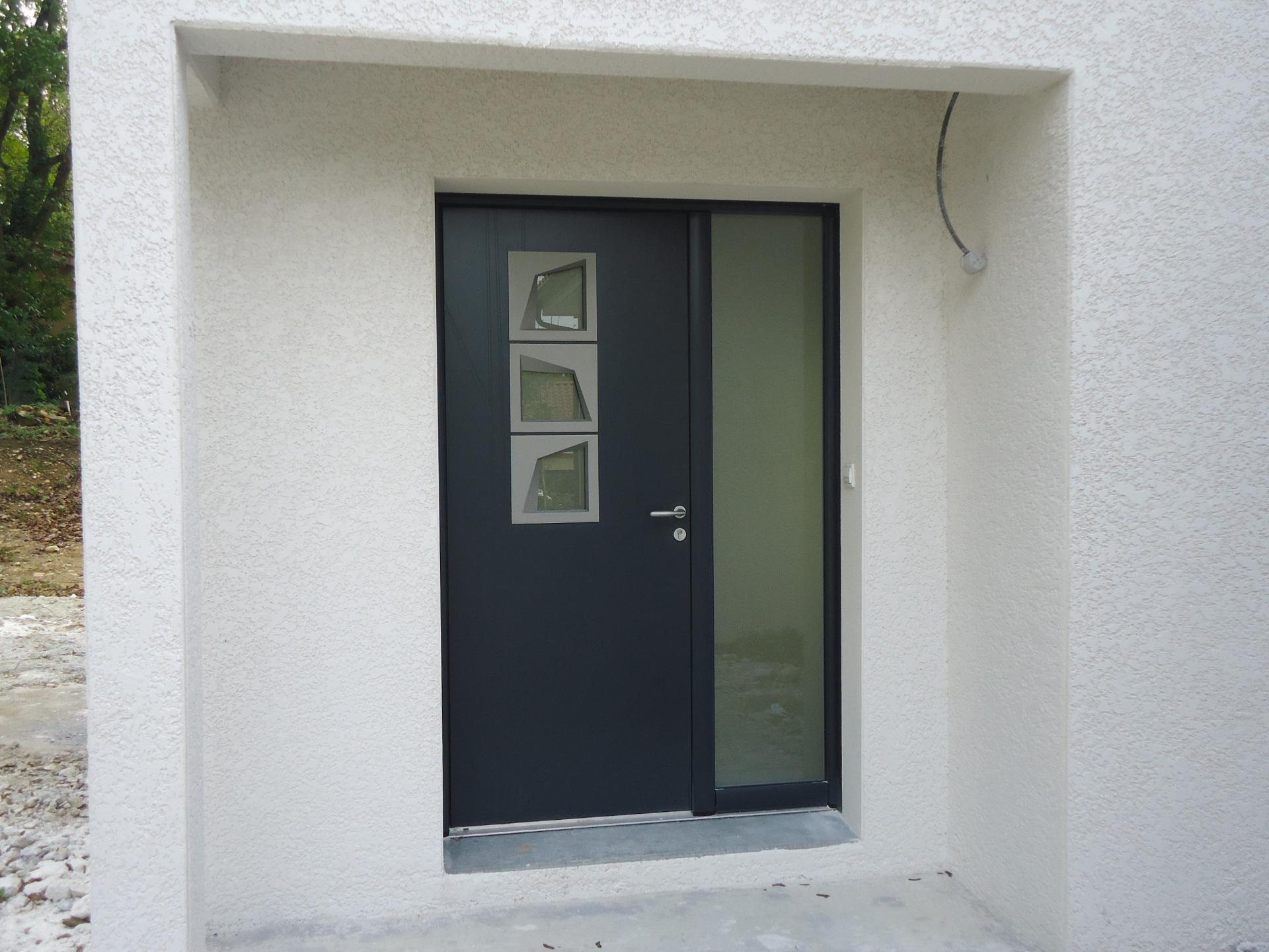 porte d'entrée alu