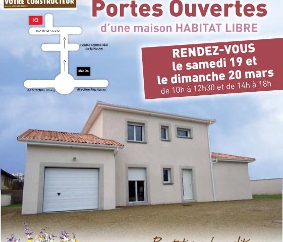 Portes ouvertes constructeur maison viriat la neuve ouest for Porte ouverte constructeur