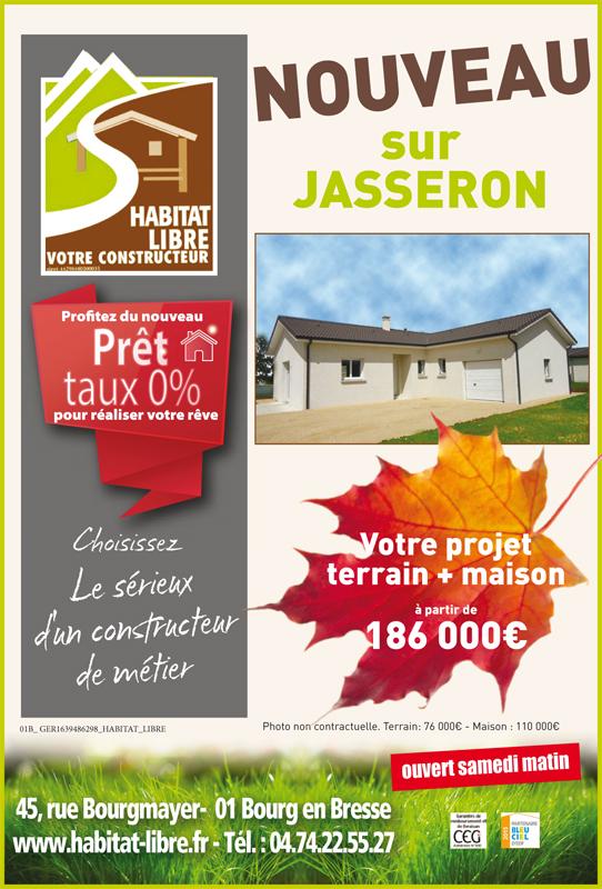 Offre terrain + maison Habitat Libre
