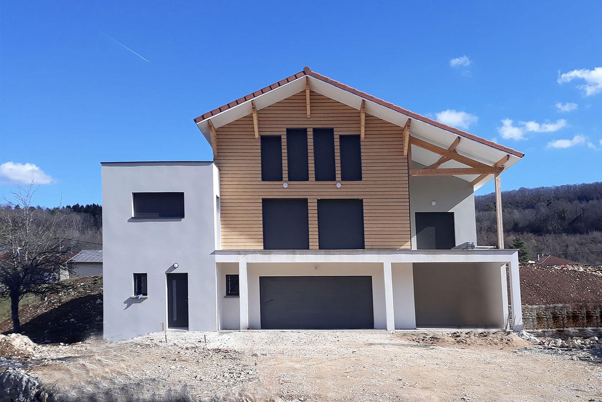 construction maison ain